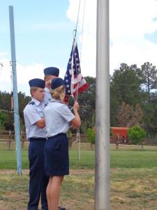 CAP raise the flag