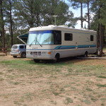 RV sites can accommodate even the largest of motor homes.