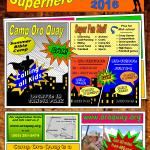 2016 Summer Camp Poster